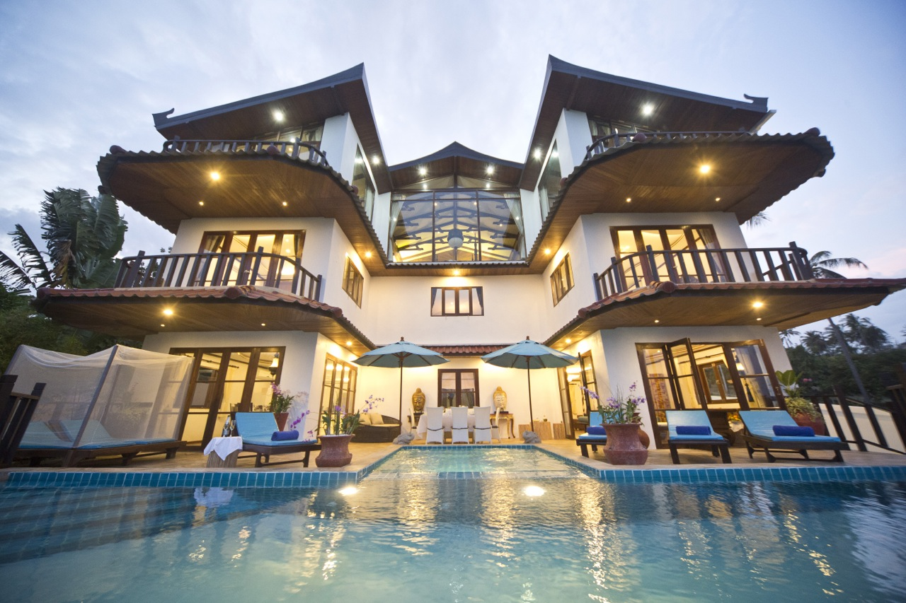 Royal Thai Villa Luxury Rentals Koh Samui